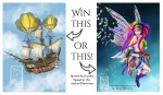 Win a Print and a Signed Book!